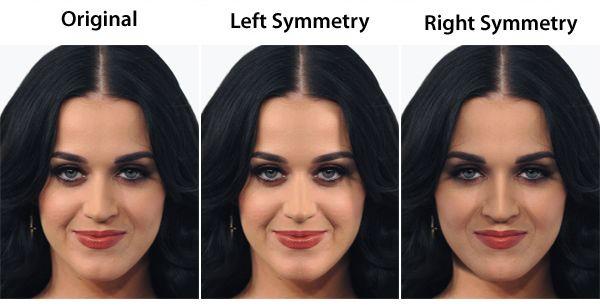 Celebrity Face Symmetry Youbeauty Com Face Symmetry Photoshop Face Celebrity Faces