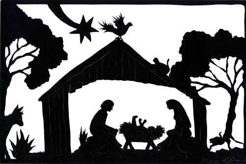 Http Www Scherenschnitte Online De Galerie Neu 1 Images Weihnachtskrippe Jpg Papierknipkunst Silhouet Kerst