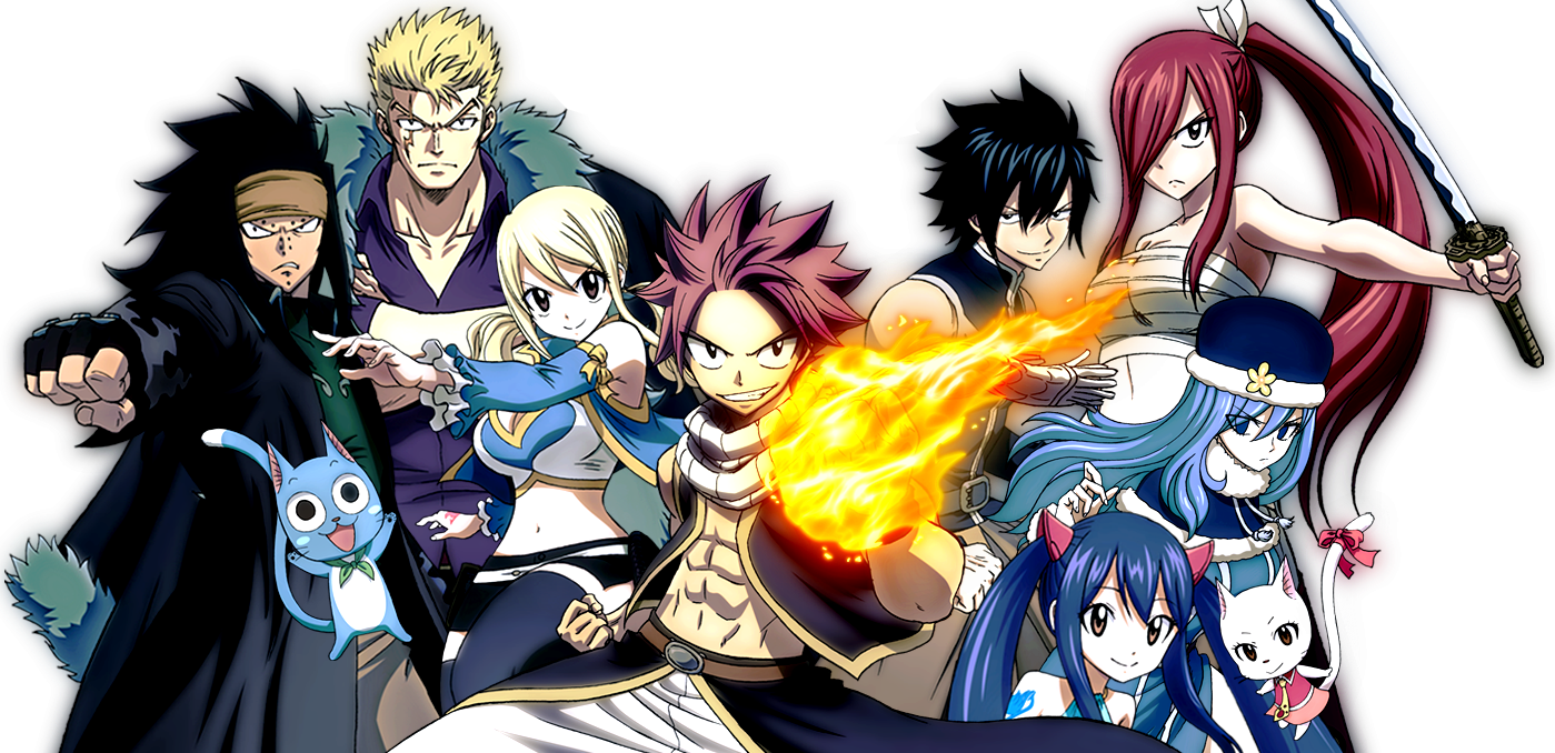 Fairy Tail Wallpapers And Backgrounds Fairy Tail Anime