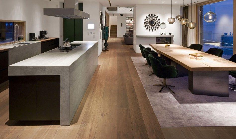 Wimmer handcrafted floors - Exklusivdiele, Landhausdiele - küche eiche rustikal