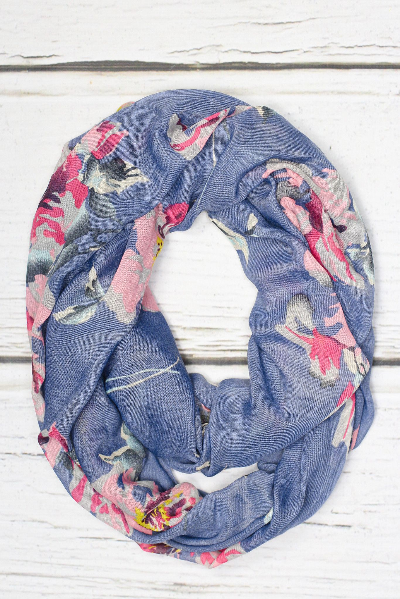 Flirting with Floral Scarf