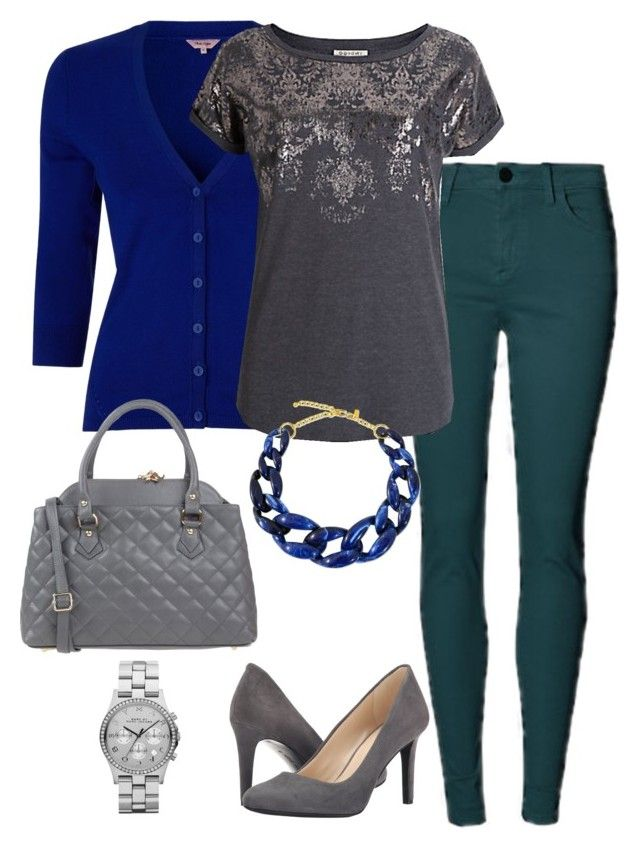 """""""Office Casual #90"""" by amooshadow on Polyvore featuring Phase Eight, Nine West, Tuscany Leather, Kenneth Jay Lane, Marc by Marc Jacobs and 90"""