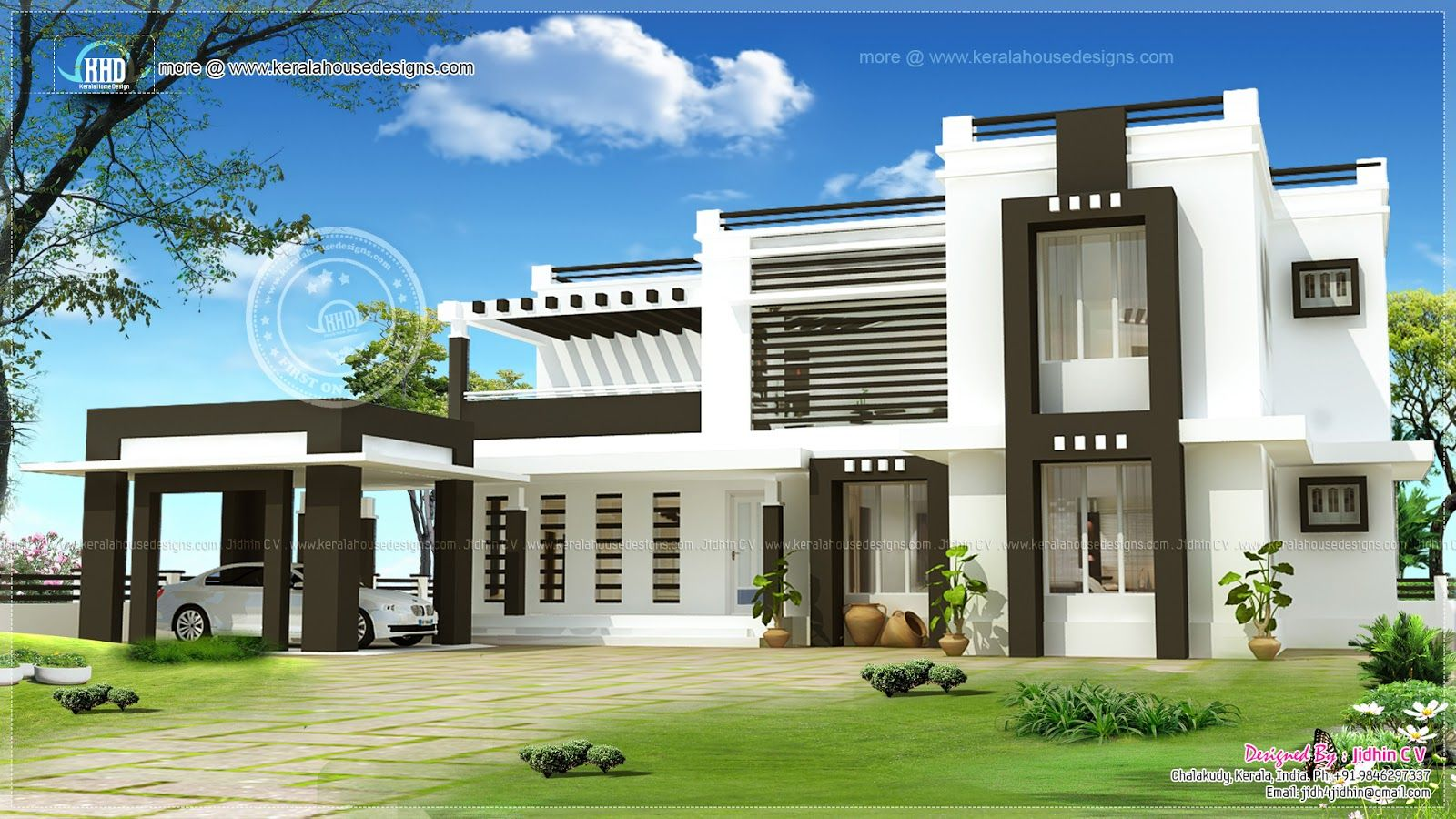 Exterior Exterior Home Design Design Saveemail Harts Contemporary - home design exterior in india