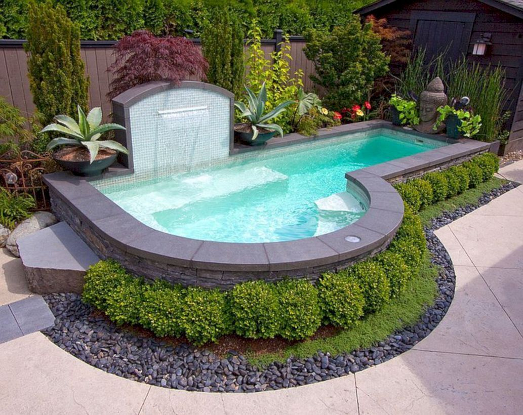 49 Small Pool Design Ideas In The Backyard That You Can Try In Your Dream Home