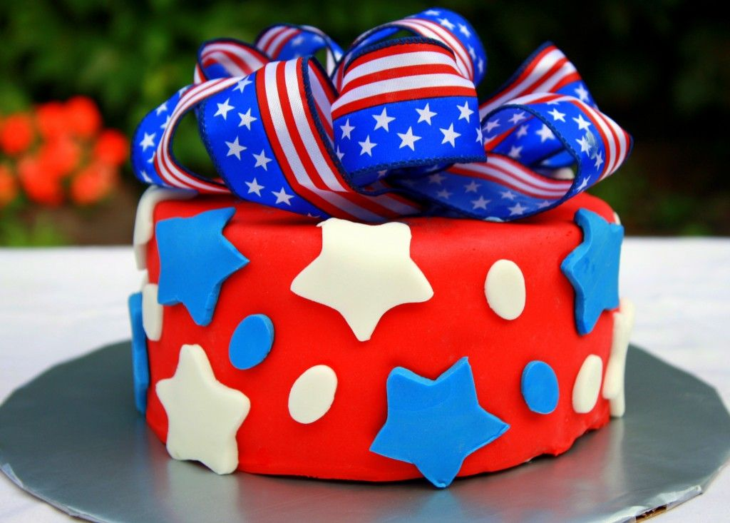 Image Of July Birthday Cake Pictures 4th Of July Pinterest Sugaring