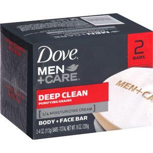 Walmart Dove Deep Clean Soap 2ct Dove Men Care Deep Clean Face Men Care