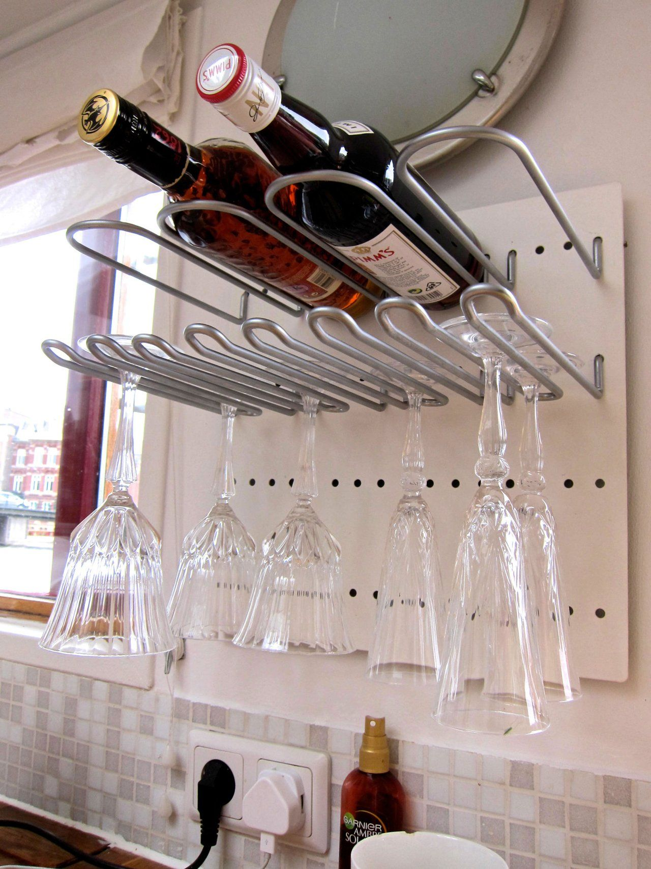 Wine Glass Storage Ideas Pennys Lovely Floating Amsterdam Abode In 2019 For The