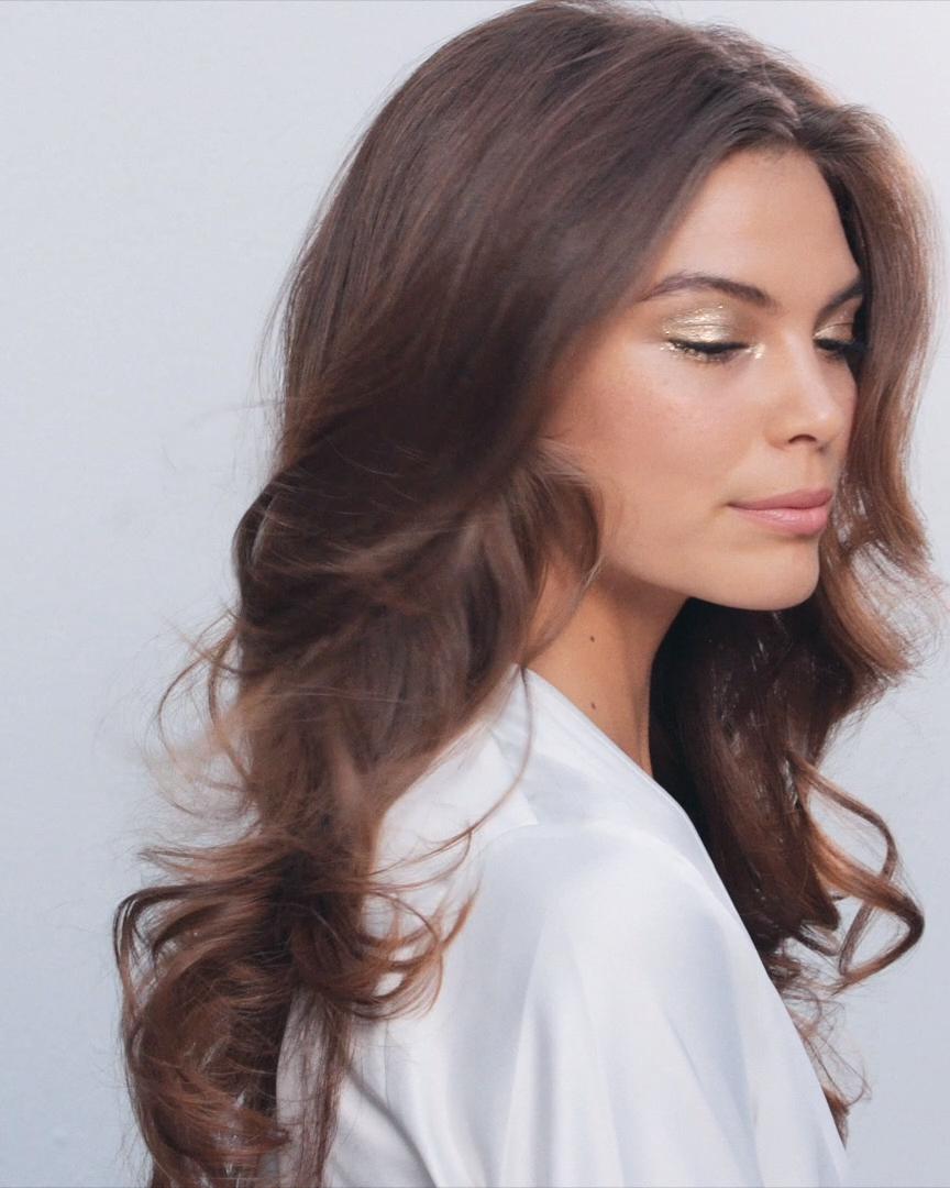 The First Look: MODERN Hair Tutorial  – Boda fotos