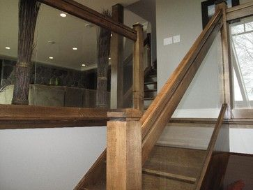 Best Straight Stair With Glass Panels Staircase London 400 x 300