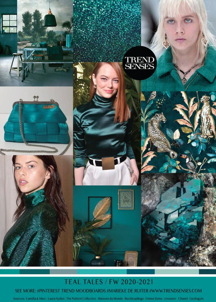 TEAL TALES / FW2020-2021 - #fw2020 #tales - #new #90sfashiontrends