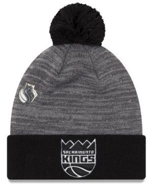 aac8cbb2d50 ... cuff knit hat sports fan shop d1259 ef5e2 canada new era sacramento  kings pin pom knit hat gray adjustable b8035 d87db ...