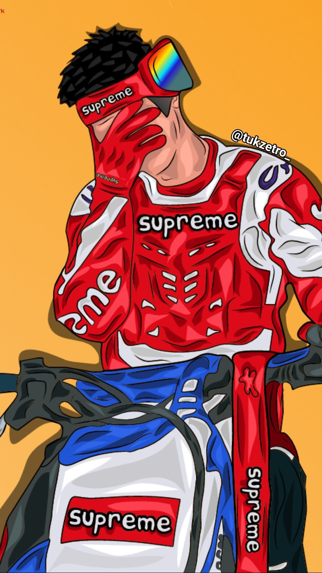Pin by A Hernandez on Supreme iphone wallpaper in 2020