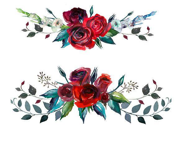 Burgundy Red Scarlett Roses Png Wedding Flowers Invitation Flori