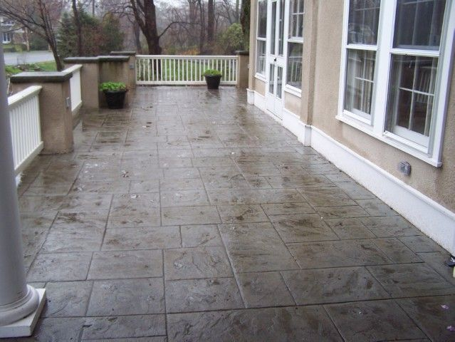 Wonderful Stamped Concrete Patio Photos | Stamped Concrete Path