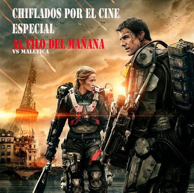 Chiflados Por El Cine Especial Al Filo Del Manana Vs Malefica Peliculas De Romance Carteleras De Cine Ver Peliculas