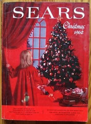 Christmas Catalogs.Vintage Sears 1962 Wishbook Christmas Catalog Yesteryear