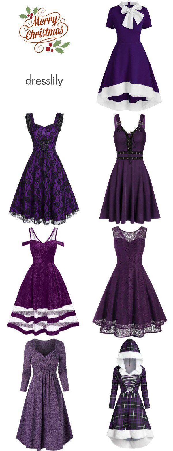 Women S Dresses Vintage Dresses Casual Dresses For Women Purple Dresses For Holiday A Vintage Dresses Casual Vintage Dresses Casual Dresses For Women [ 1560 x 600 Pixel ]