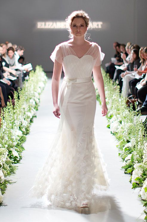Elizabeth Stuart, Fall 2014 | Long Sleeved Wedding Dresses