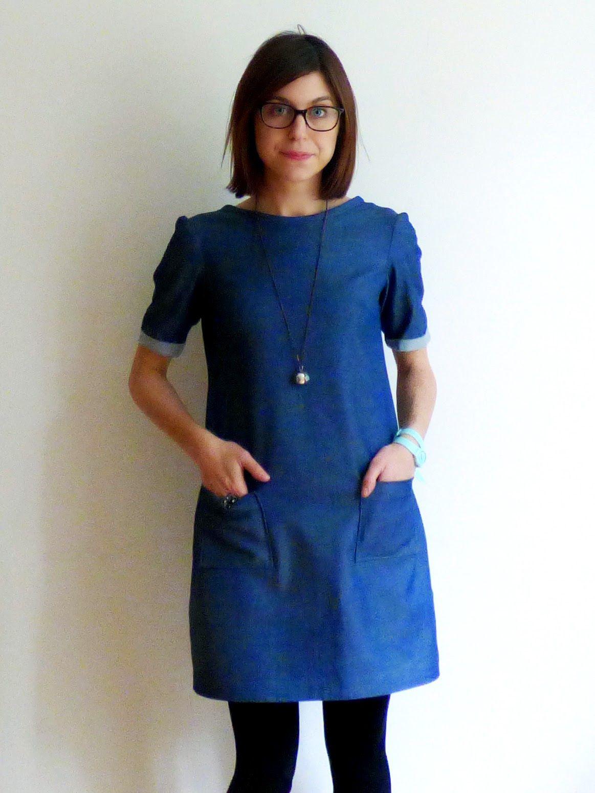 Colette Laurel Dress pattern http://alittlemissprint.blogspot.co.uk ...