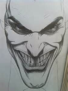 How To Draw Joker Face : joker, Joker, Sketches, Images, Drawings,, Face,, Drawing