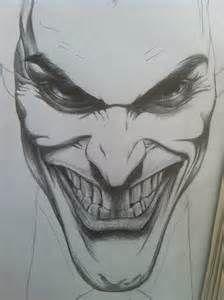 Joker Face Sketches