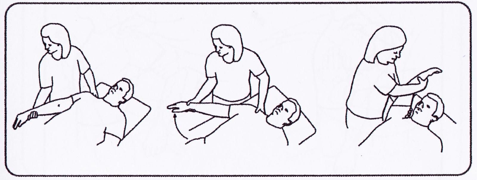 HelioSpectrum: Program of 9 passive exercises for upper