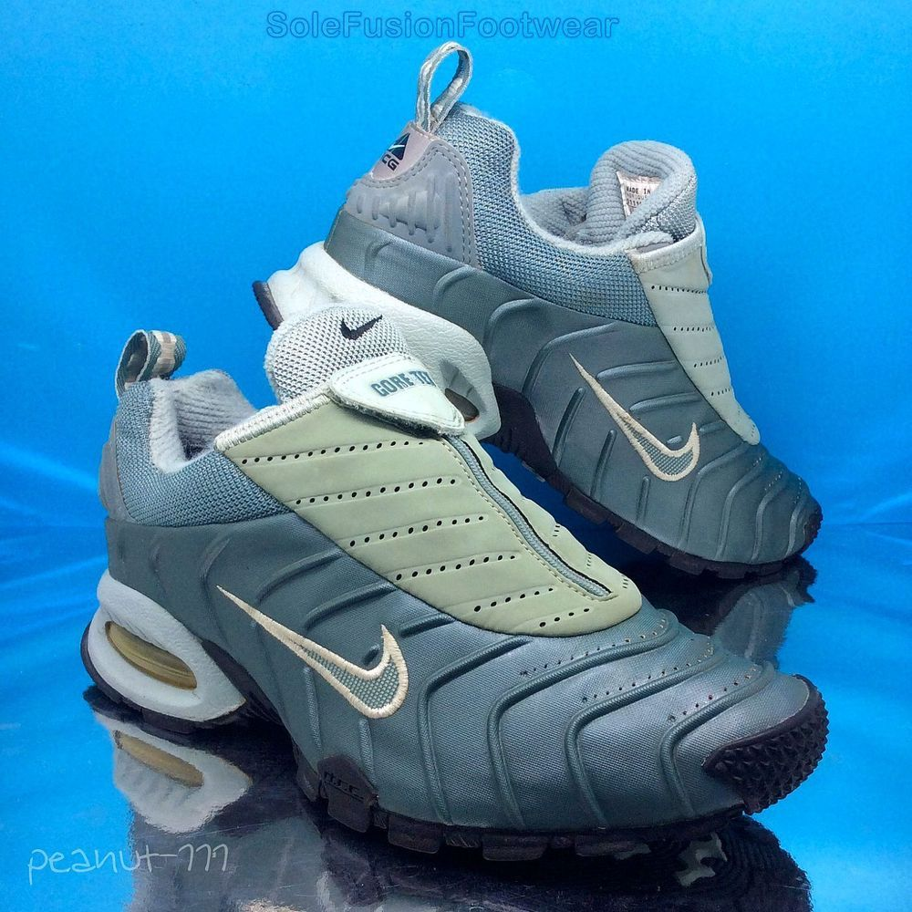 best loved eb7f6 ced25 Nike Womens Air Max Crested Trainers sz 5 Rare ACG Gore-tex Sneakers US 7.5  VTG   eBay