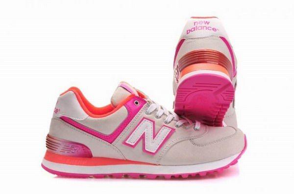 New Balance WL574BTC (dunkelblau rosa) 724631 50 103 | 43einhalb Sneaker Store