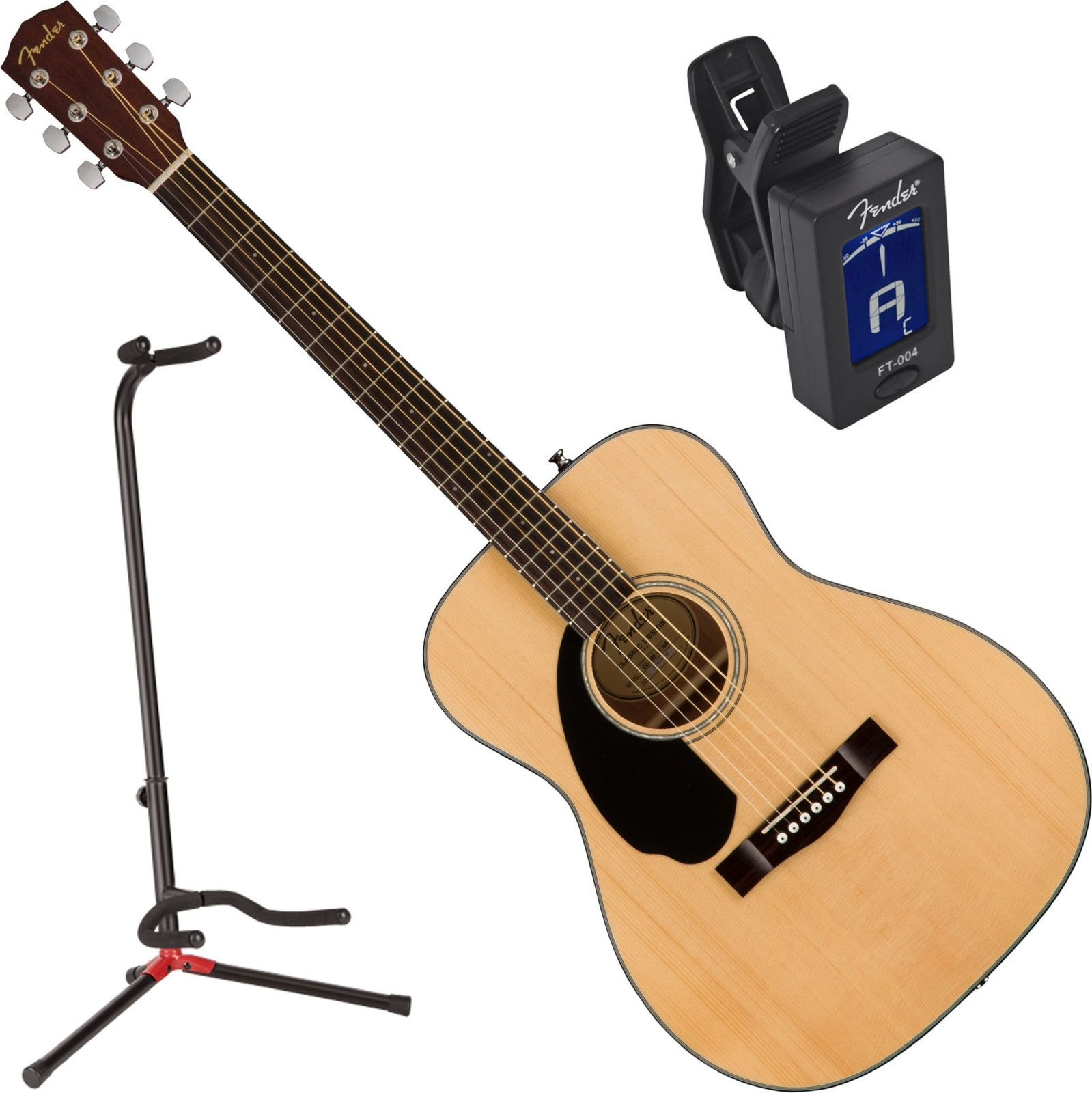 Fender Cc 60s Left Hand Natural Solid Top Concert Acoustic Guitar W Stand Common Shopping Acoustic Guitar Guitar Acoustic