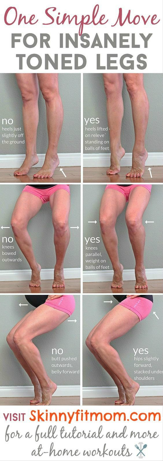 How to shrink legs 20