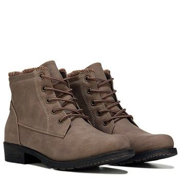 54f8e2fa6 Sporto Women s Leslie Lace Up Boot at Famous Footwear