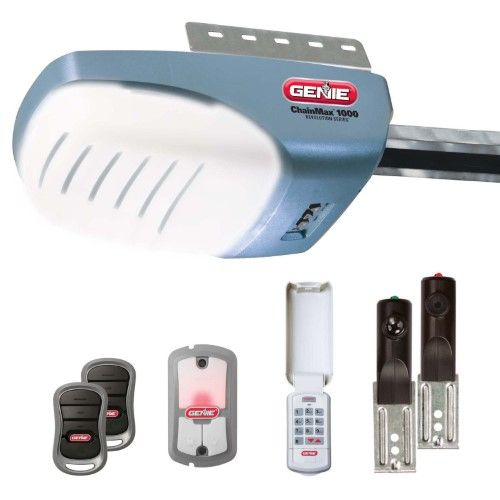 Genie 37280u Garage Door Opener With 3 4 Hpc Dc Chain