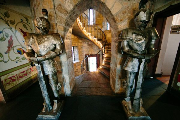 Inside Cloisters Castle In Baltimore