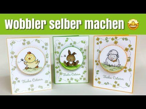DIY Wobbler selber machen - Osterkarte mit Osterschatz - Videohop - mit Stampin Up Produkten