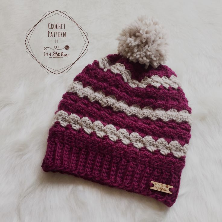 Twin Rivers Beanie Crochet Pattern Projects To Try Pinterest