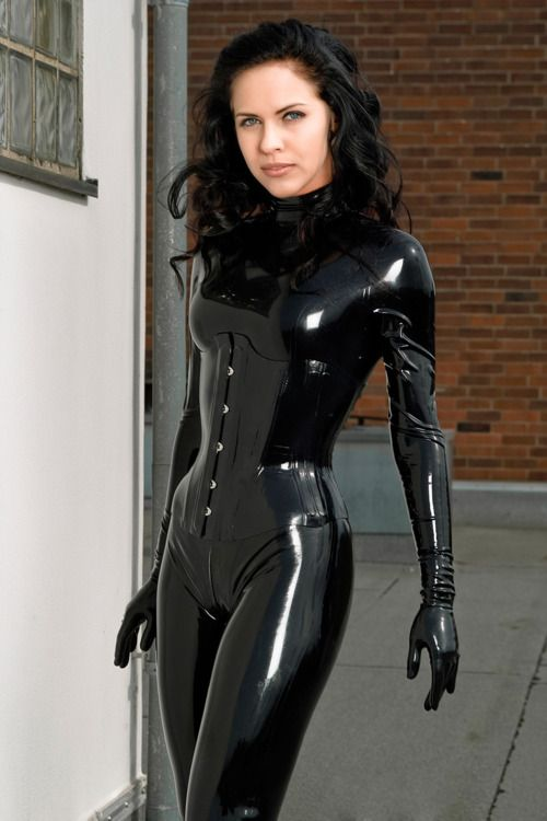 latex catsuit corset for use with catwoman i would need to sew the stitching in it easy. Black Bedroom Furniture Sets. Home Design Ideas