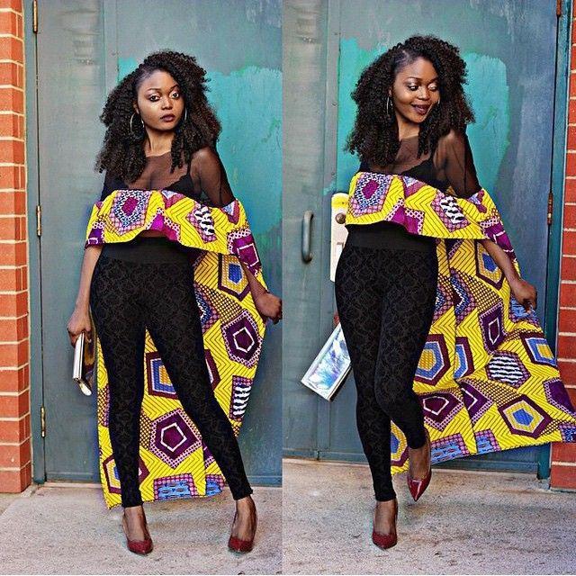 #RandomAfricanPrint #AnkaraStyle #AfricanDesignersCorner