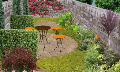 Plan de jardin troit cr er un jardin en longueur deco for Jardin etroit