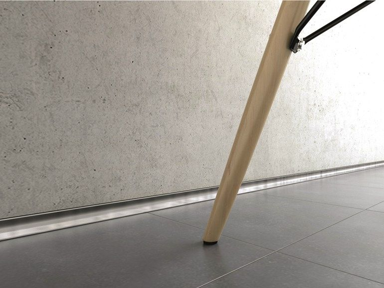 Decorative Aluminium Edge Profile For Floors Metal Line Af By Profilpas Skirting Boards Skirting Baseboards