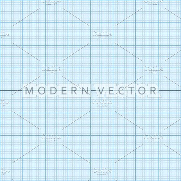 Graph paper seamless pattern Graphics Graph paper background for