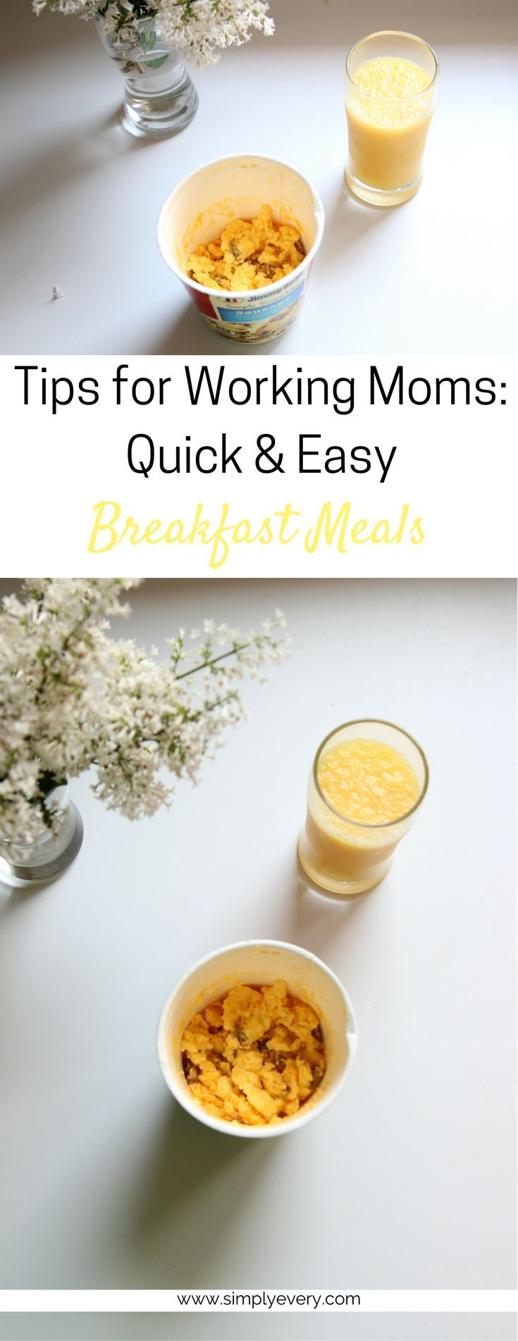 easy breakfast, food on the go, mom life, breakfast for