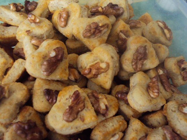 slané orechové pečivo