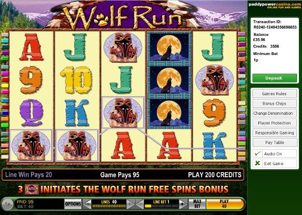 #onlinegokkasten Wolf Run - nu kan niemand je stoppen met het winnen bij online slot.