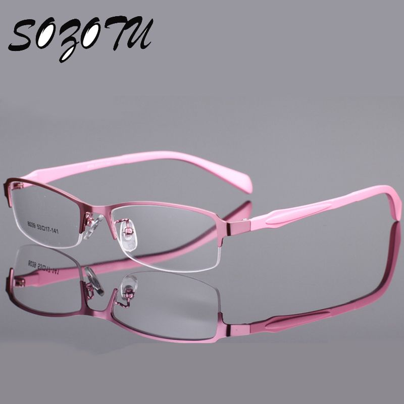Optical Eyeglasses Frame Women Computer Eye Glasses Spectacle Frame ...