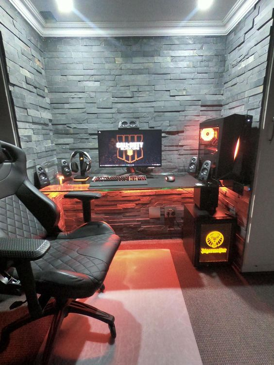 Design Your Room Game: 33 Fun Video Game Room Design Ideas For Gamer's Vibe