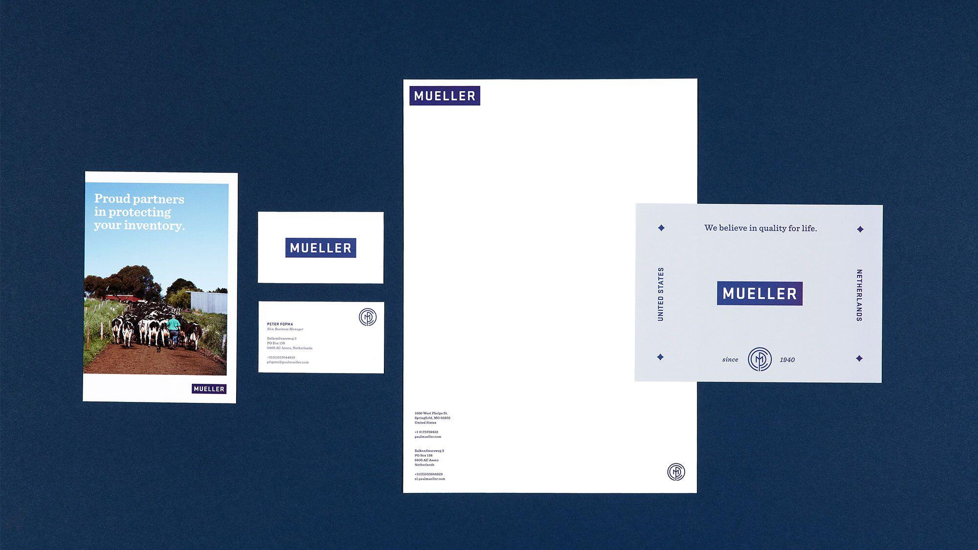 Paul Mueller Company Company Branding Branding Design Branding