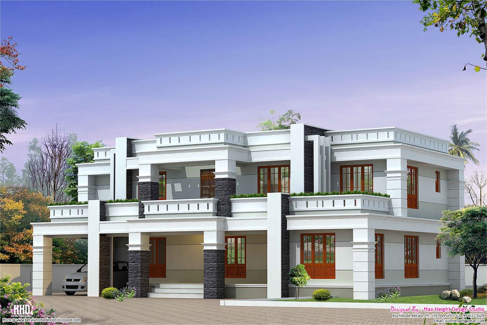 Max height design studio designer sudheesh ellath vatakara kozhikode roof design plans hip roof garage plan