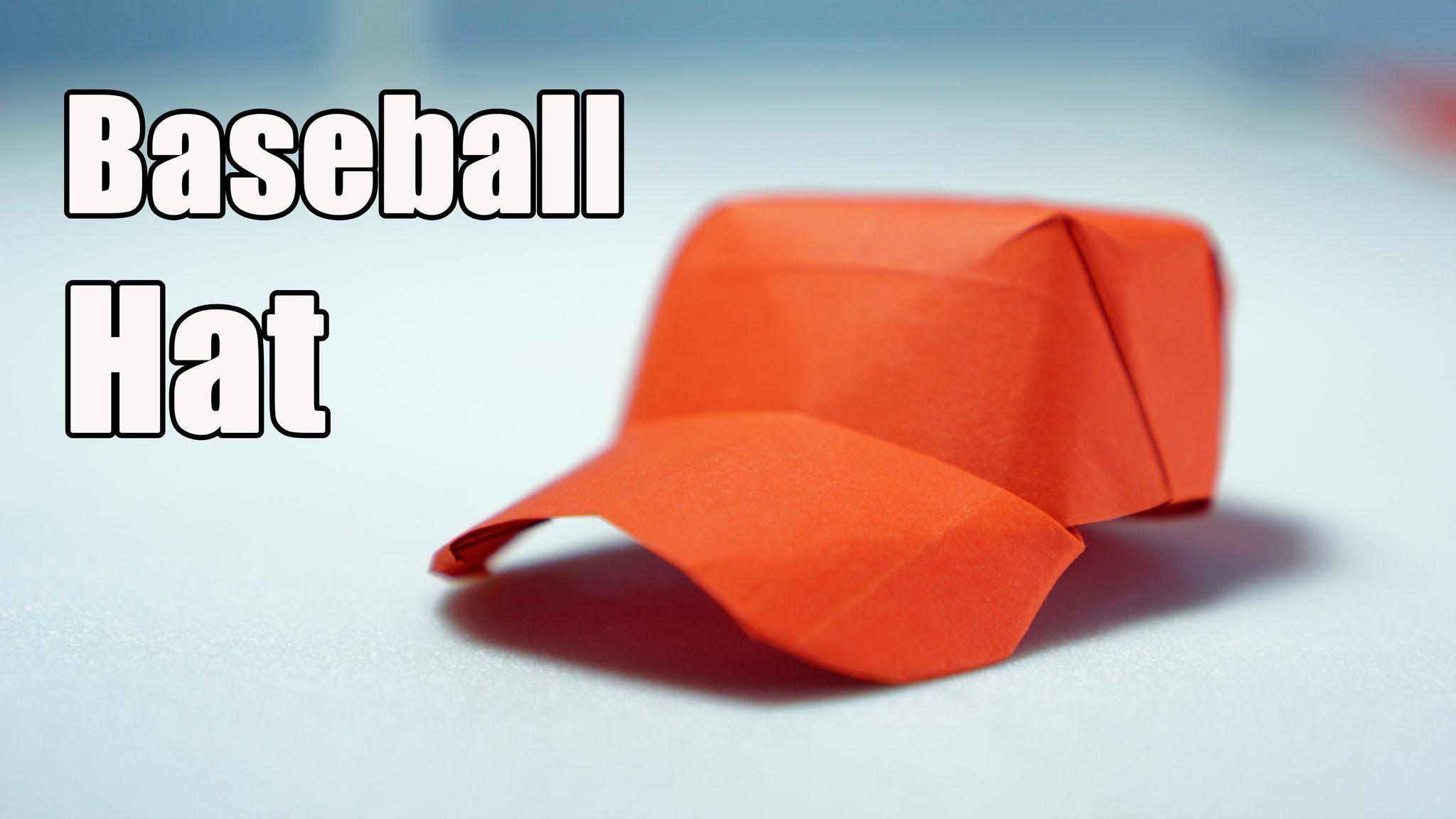 Best Origami Baseball Cap Tutorial Diy Henry Phm Ideasdiy