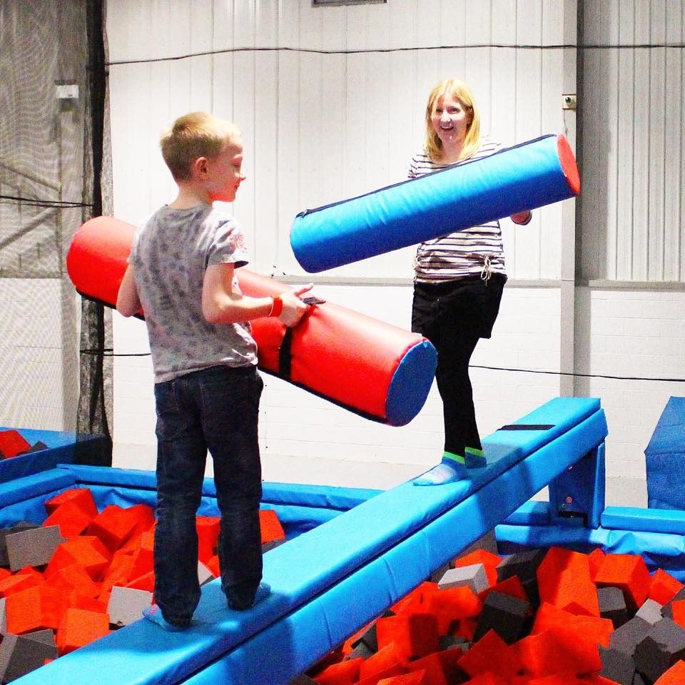Trampoline room in house - Rush Uk Indoor Trampoline Park High Wycombe Review