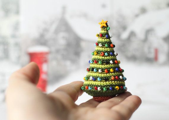 Weihnachtsbaum, Gehäkelte Weihnachtsbaum, Weihnachtsdekoration ...